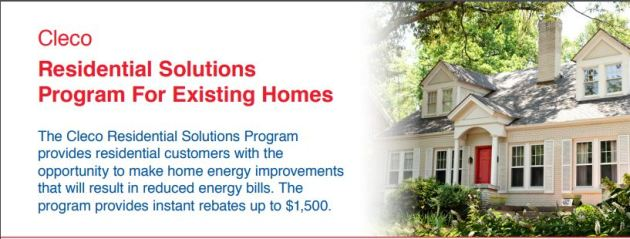 Cleco Residential Solutions Program