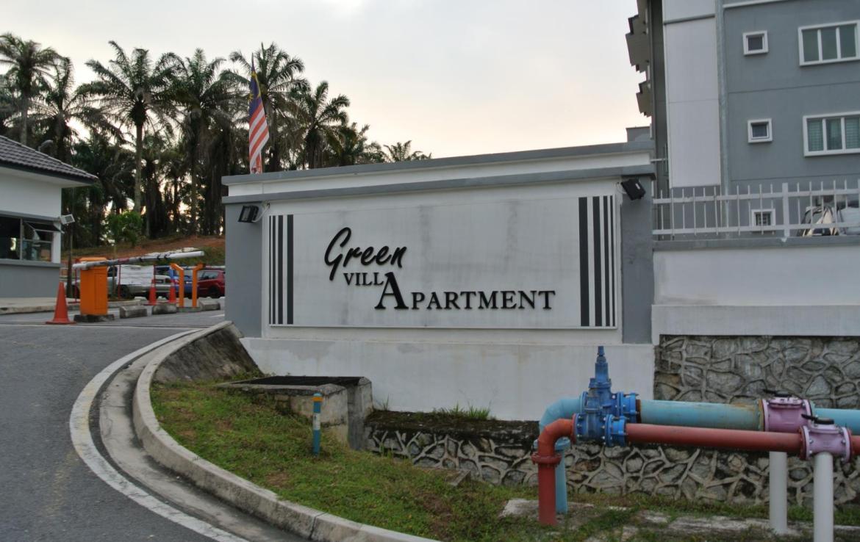 green villa apartment for rent