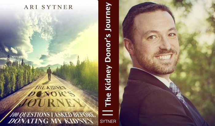 Journey of kidney donor Dr Ari Sytner