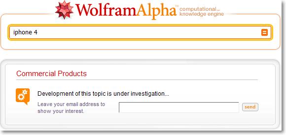 Wolfram Alpha iphone