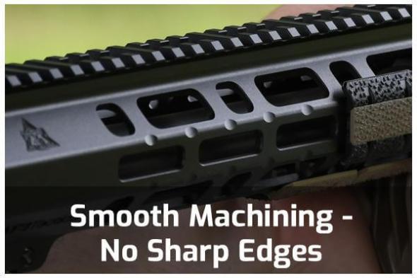 Smooth Machining - No Sharp Edges