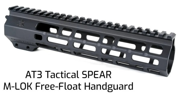 AT3 Tactical SPEAR M-LOK Handguard 9 Inch Length