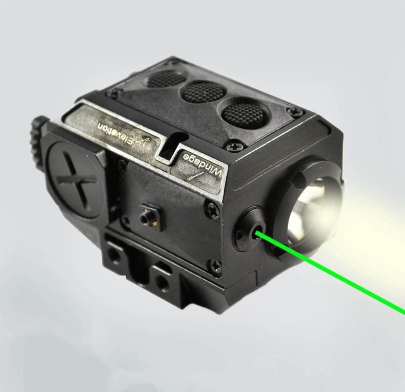 AT3™ Green Laser Light Combo with LED Strobe Flashlight LL-02G