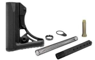 UTG PRO S3 Mil-Spec Buttstock Kit - All Parts Included - Buffer, Tube, Springs, & More