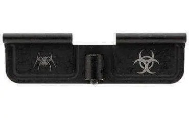 """Spike's Ejection Port Door Part Black """"Bio Hazard"""" Engraving SED7011"""
