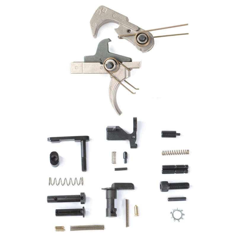 AT3™ Enhanced Lower Parts Kit with Nickel Teflon Trigger - No Grip or Trigger Guard