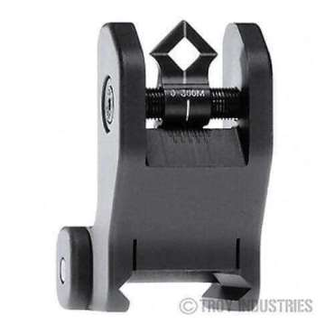 Troy Rear Sight - Fixed - Di-Optic Aperture (DOA)