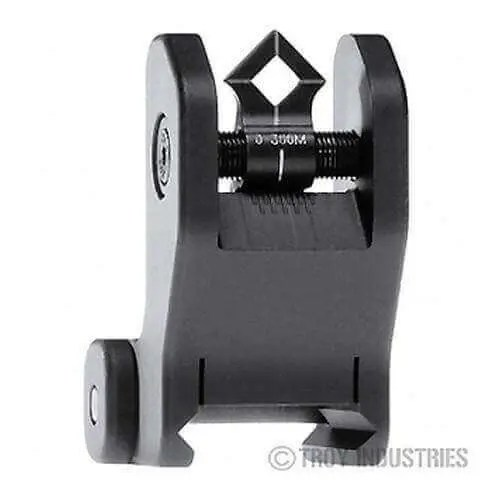 Troy Rear Sight - Fixed - Di-Optic Aperture (DOA)