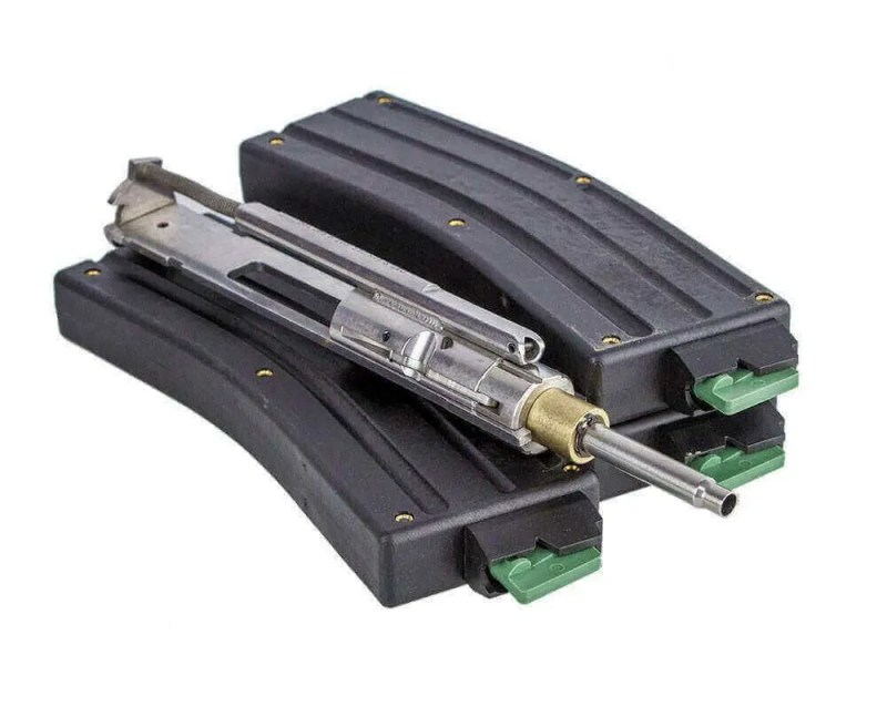 OPEN BOX RETURN CMMG AR-15 .22 LR Stainless Steel Conversion Kit + Three 25 Round Magazines - Bravo Series