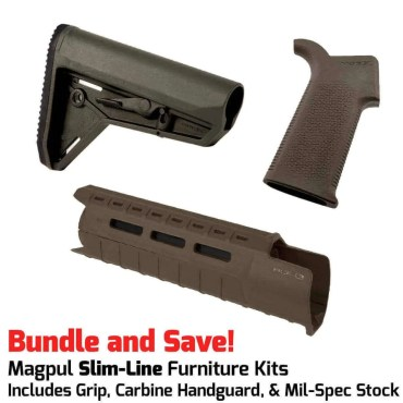 Magpul MOE SL™ SLIM LINE Furniture Kit - Stock, Grip & M-LOK Carbine Handguard