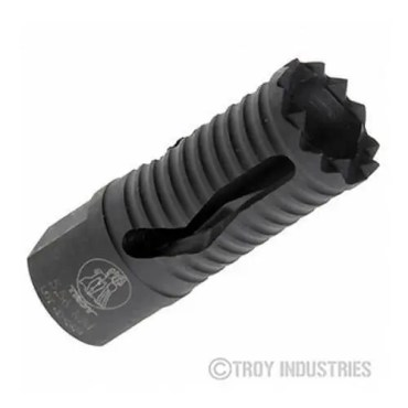 Troy Medieval Flash Suppressor 5.56mm - SSUP-MED-05BT-00