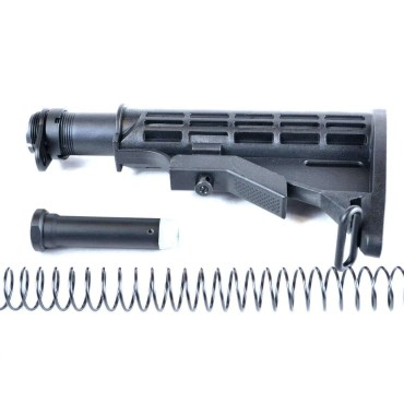 AT3™ Mil-Spec AR-15 Buttstock Kit - Stock, Buffer, Tube, Springs, Plate