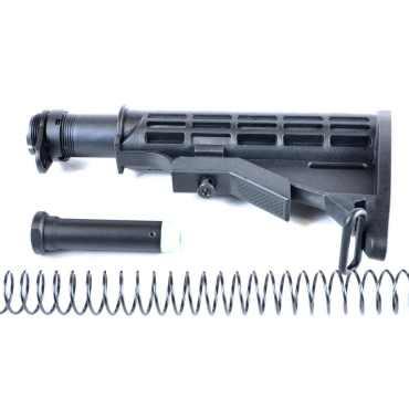 AT3™ Mil-Spec AR-15 Buttstock Kit - Stock, Buffer, Tube, Springs, Plate