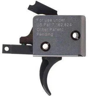 CMC Triggers Single Stage Black Curved Match Trigger 91501
