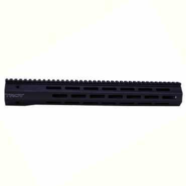 "Troy 15"" AR-15 Free Float Handguard - M-LOK Carbon Fiber - AR-15 BattleRail"