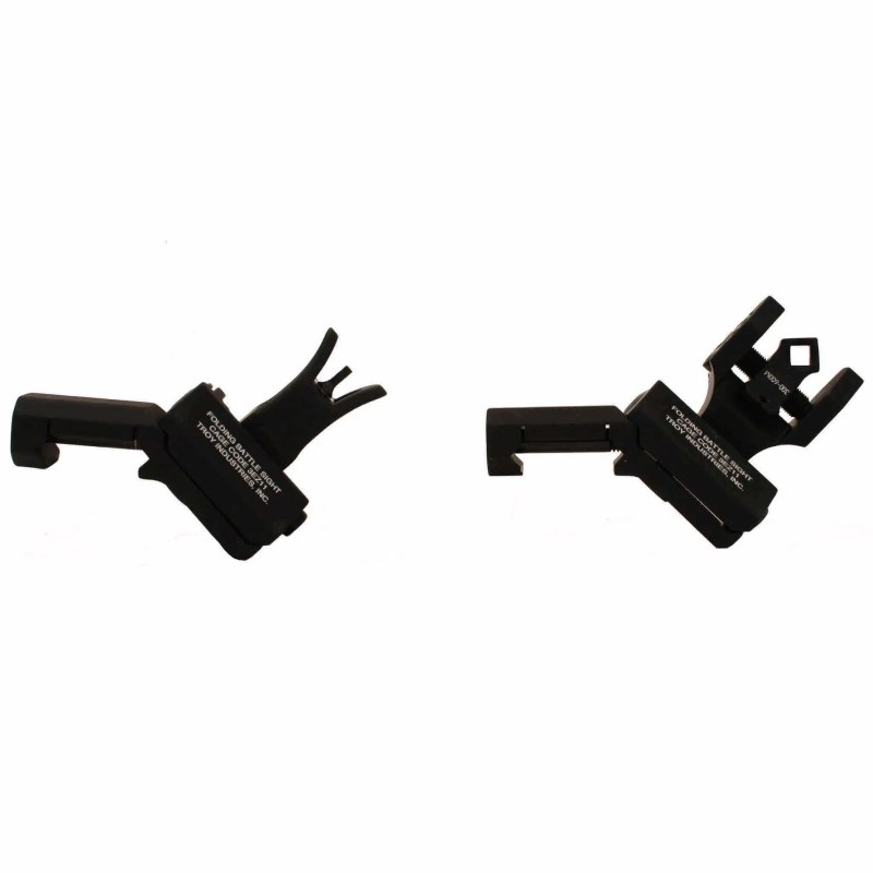Troy 45 Degree Battle Sight - M4 Front Sight & Dioptic Rear