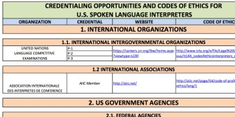 [Preview of credentialing opportunities table]
