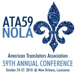 [ATA 59th Annual Conference - October 24-27 - New Orleans]