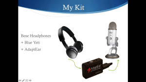 [Headphones kit]