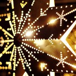 [Happy Holidays message - star lights picture]