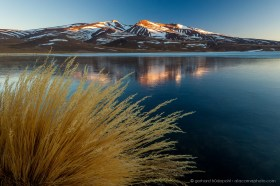 Frozen Laguna Santa Rosa, Parque Nacional Tres Cruces
