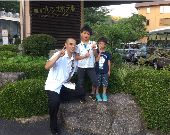 oshou_with_kids