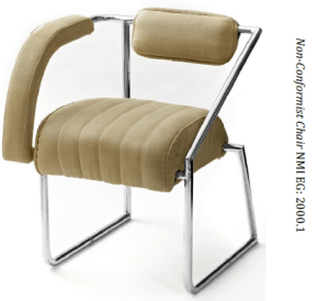 Image of non conformist chair