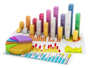 stock image representing statistics