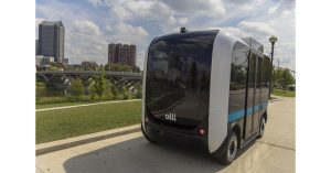 Olli is an all-electric autonomous vehicle, packed with features to help people with disabilities