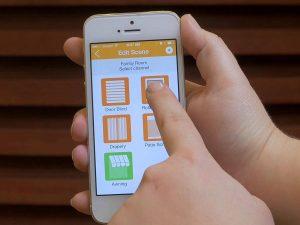 Somfy mylink app for Smart blinds