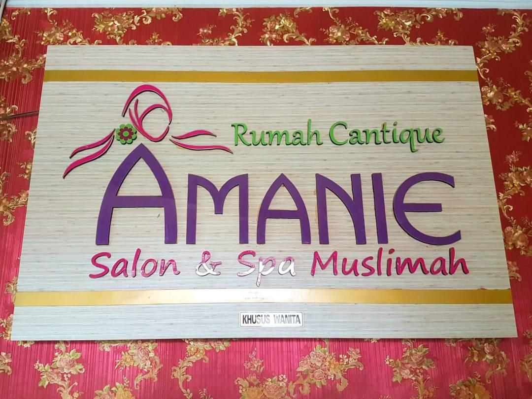 Rumah Cantique Amanie Salon dan Spa Muslimah