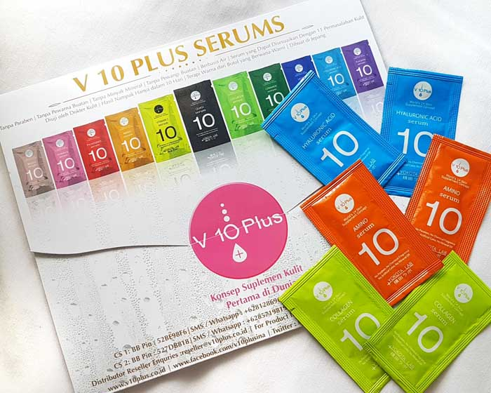 v10 plus hydrating serum
