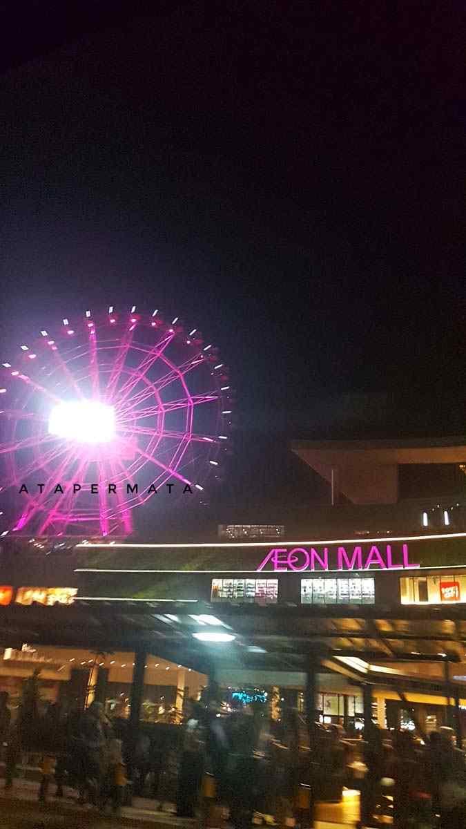 Naik Bianglala di AEON Mall Jakarta Garden City