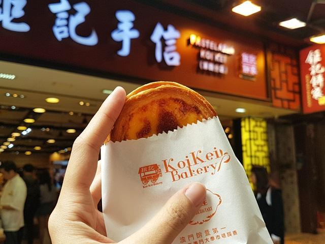 Portuguese Egg Tart Koi Kei Bakery