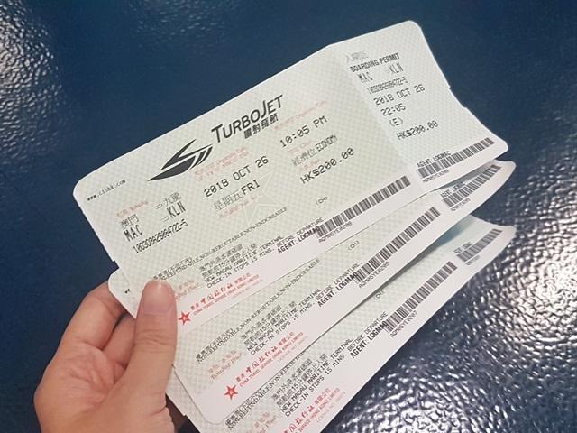 Tiket Ferry dari Macau