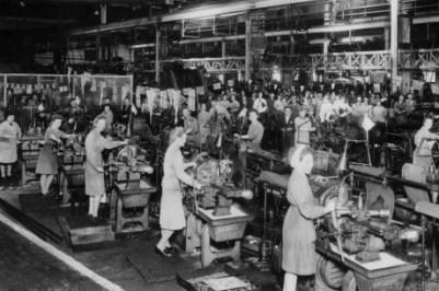 Factory in 1800's