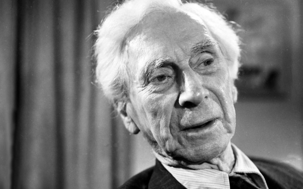 Bertrand Russell and Pacifism