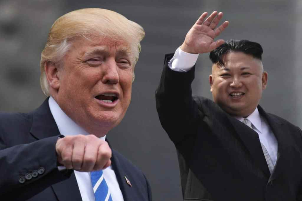 American prisoners released from North Korea