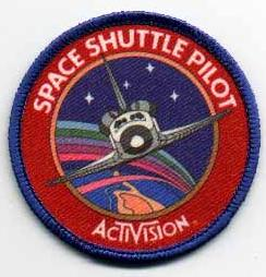 Space Shuttle pilot badge