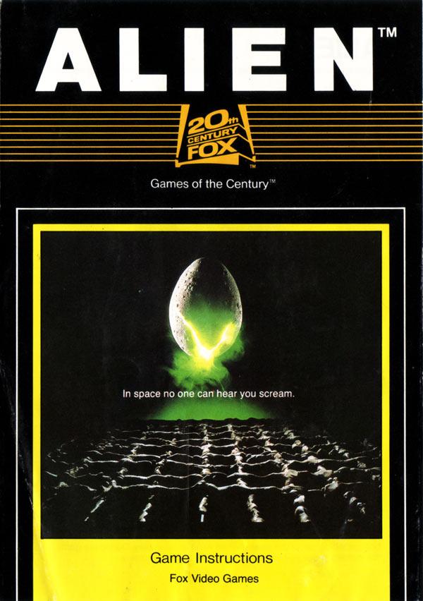 Atari 2600 VCS Alien Scans Dump Download Screenshots