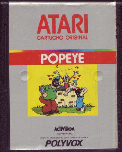 Atari 2600 Vcs Popeye Scans Dump Download Screenshots