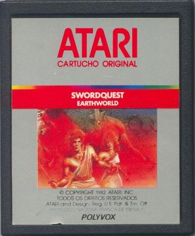 Atari 2600 Vcs Swordquest Earthworld Scans Dump