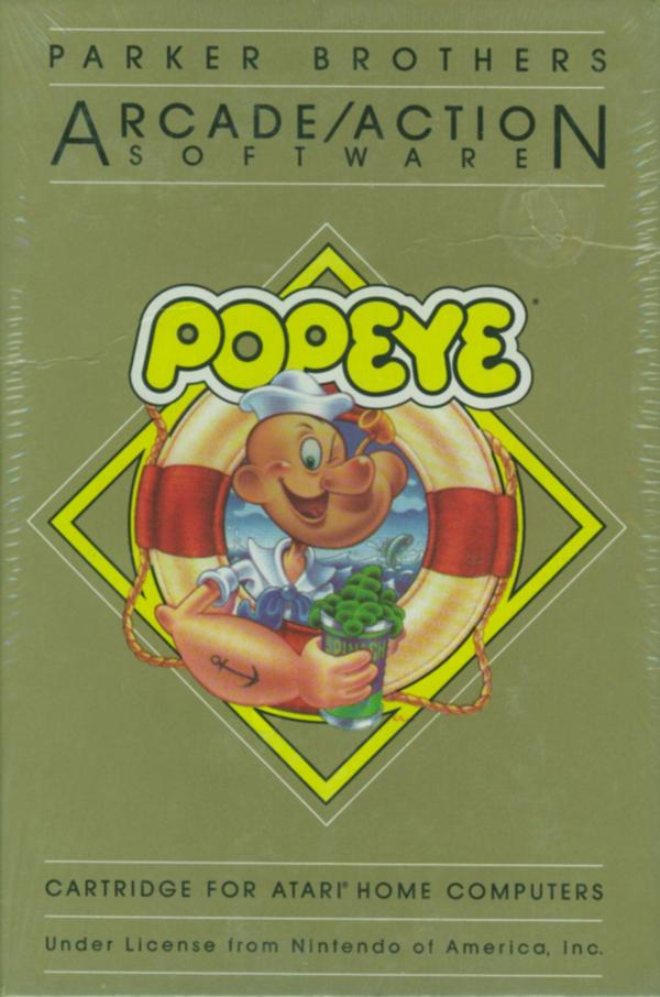 Atari 400 800 XL XE Popeye Scans Dump Download