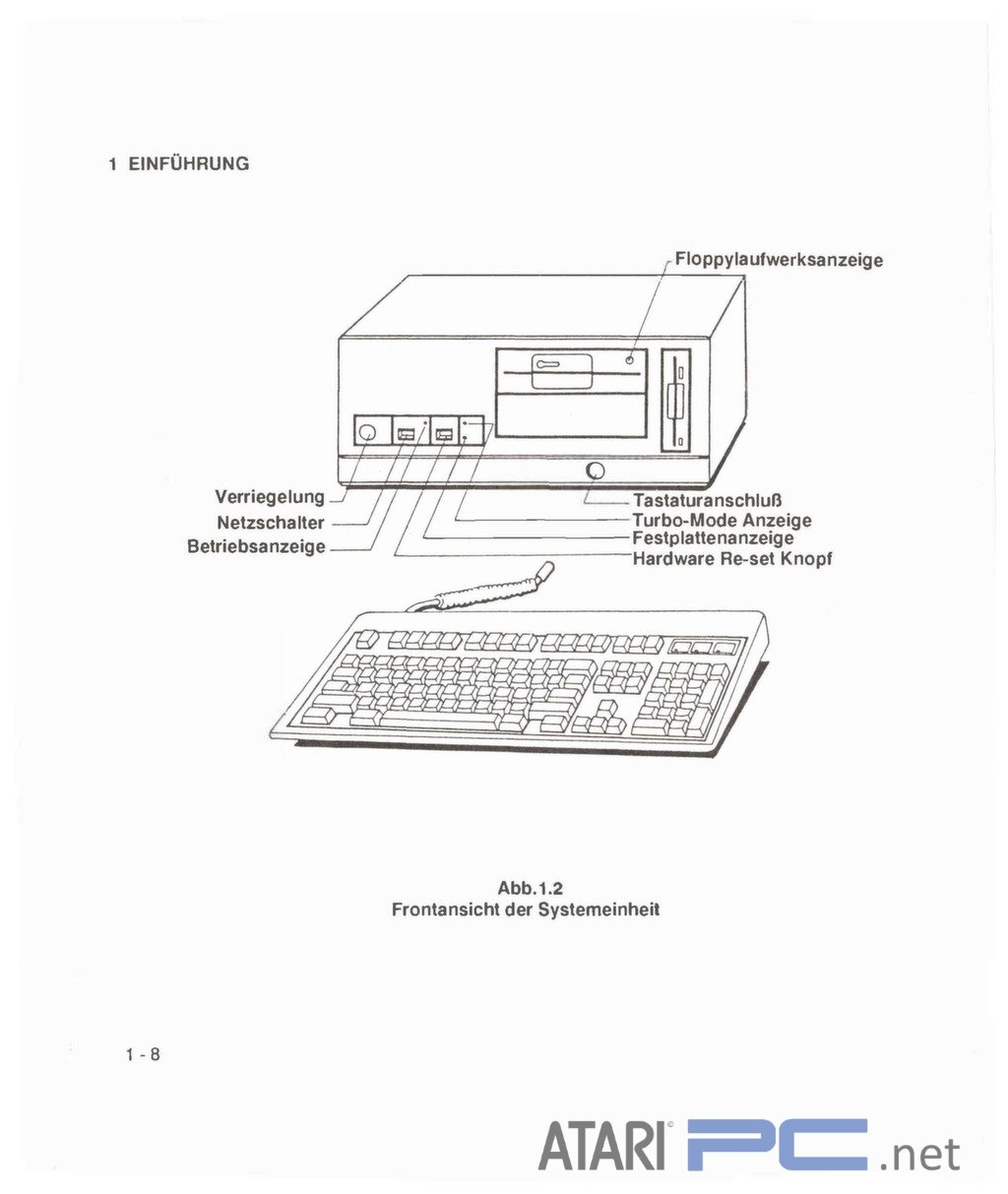 Atari Pc4 Mitac User Manual German Atari Pc