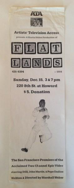 ATA Flatlands flyer copy