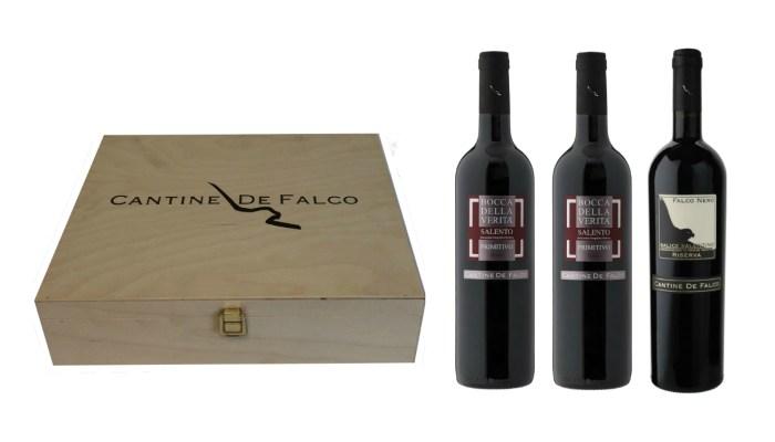 de falco wooden box