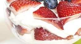 Summer berries & cream