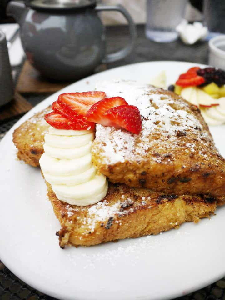 Chai Spiced French Toast, brunch, The Steeping Room, Austin