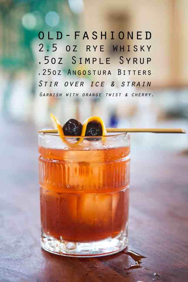 Old Fashioned, Old Fashioned recipe,