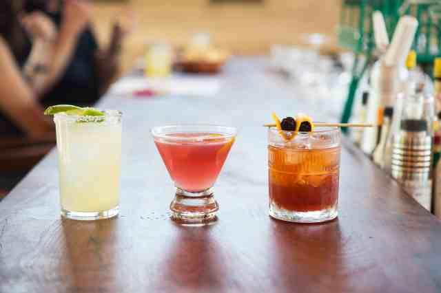 El Bar, El Monumento, Cocktails